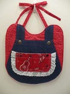 Super cute!!~~~~~Overalls Bib Cowgirl by FionaMeadow on Etsy