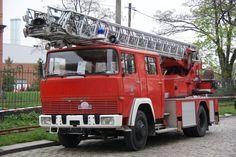 Eine MAGIRUS Deutz Drehleiter am 15.04.16 in Dresden. Dieses Foto hat ein Freund von mir gemacht und ich darf es veröffentlichen.