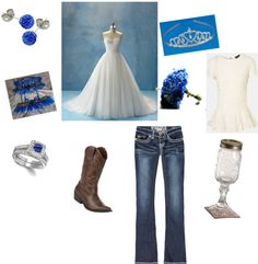 """Country Wedding Ceremony"" by lshahan on Polyvore"