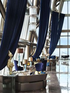 The St.Regis Shenzhen, China designed by CCD/Cheng Chung #Design. For more information go to http://memoir.pt/