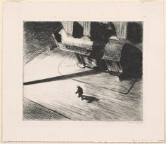 Night shadows. From New York Public Library Digital Collections.