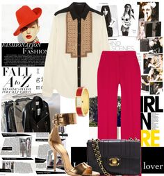 """""""Red"""" by na3omiii ❤ liked on Polyvore"""