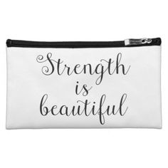 Strength is Beautiful Bagettes Bag - script gifts template templates diy customize personalize special