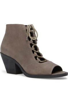 c6b640d3ea Adam Tucker by Me Too  Nola  Lace-Up Open Toe Bootie (Women) available at…