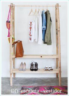 DIY: armario vestidor, ¡un tutorial magnífico!