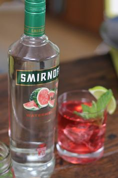 Make an easy and delicious Grand Watermelon Getaway with 1.5oz SMIRNOFF® Watermelon, 1.5oz lemon lime soda 1.5oz cranberry juice, and limes for garnish. It's the perfect summer drink sure to make any weekend grand. happyhour cocktail easydrinks