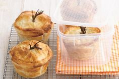 These pies are perfect comfort food. Make extra and put them in the freezer for a night when you need a break.