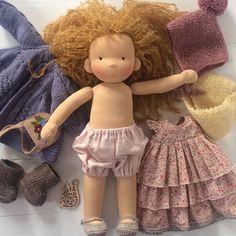 #waldorfdoll #waldorfpuppe #taisoid #вальдорфскаякукла #textiledoll