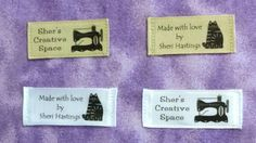 make your own custom sewing labels