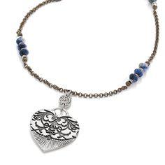 Brighton Gypsy Lace Long Necklace