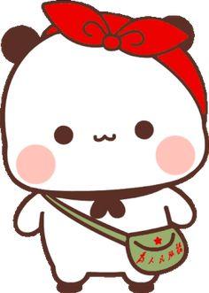 Cute Gif, Animated Gif, Panda, Hello Kitty, Cute Animals, Gif 2, Kawaii, Animation, Stickers