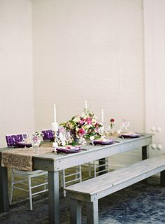 Gray Purple Wedding Ideas   photography by http://www.jacquelynnphoto.com/