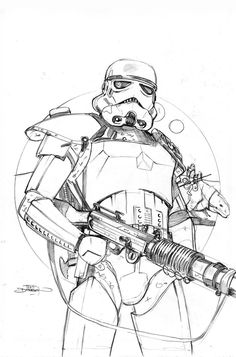 Star Wars 20 Cover Pencils by Terry Dodson on DeviantArt