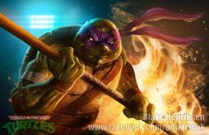 You can purchase this print here: https://www.etsy.com/listing/223193624/ninja-turtles-set-of-4-prints?ref=shop_home_active_21  Back in 2014 I decided to take another stab at painting the Ninja Turtles!  #blakehenriksen #pinkhavok #blakehenriksenart #pinkhavokart  #coloradoartist #art #comics #comicart  #tmnt #tmntvsthefootclan #ninjaturtlesvsthefoot #ninjaturtles #footclan #teenagemutantninjaturtles #ninja #ninjas #comicartist #donatello #leonardo #michelangelo #raphael #idw #idwcomics