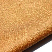 SOUND Technology Leather™ | Heavy Duty Upholstery & Task Seating Vinyl | Joseph Noble #orange #upholstery #heavyduty #josephnoble #circles #pattern #texture