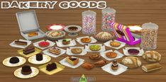 Around The Sims 4: Bakery Goods • Sims 4 Downloads
