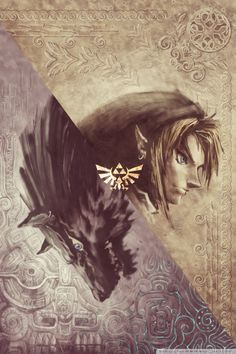 The Twilight Princess cover makes a really neat phone wallpaper Visit blazezelda.tumblr.com