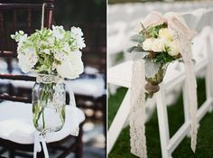 Hochzeit Deko Idee – Spitze ist spitze