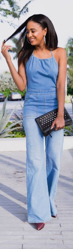 GOOD, OVERALL IN MINKPINK / Fashion By Ria Michelle