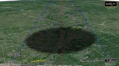 The Total Solar Eclipse of August 21, 2017 - fly along with the shadow!
