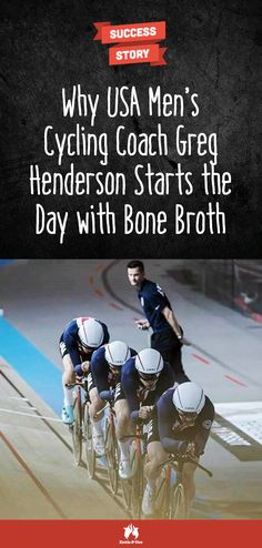 Why should you care about men's coach Greg Henderson's opinion? Because he's a winner. And when it comes to the to fuel an athlete's body, he has done his research. Bone Broth Detox, Bone Broth Soup, Cycling Coach, Men's Cycling, Gut Health, Health And Wellness, What Is Bone Broth, Bone Broth Benefits, Making Bone Broth