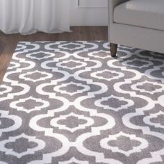 From the stunningly contemporary colors and the soft tones, this area rug is beautifully detailed in every way. Power loomed of durable poly wool blend yarns the rug is easy to care. These area rugs are naturally soil, stain, and fade resistant.
