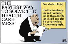 Night Nurse — cartoonpolitics: (cartoon by Randy Bish)