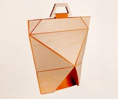 Origami was the main inspiration of this project, as you can clearly see that each Facet bag features unique origami shapes.