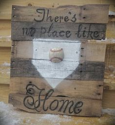 Baseball Sign by GabbIzzyFlips on Etsy, $30.00