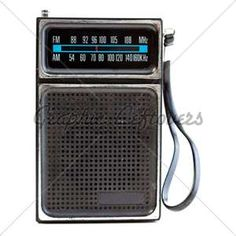 yea, we were cool, transistor radio and all!!