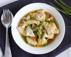 Gai pad Khing. Thank ginger chicken