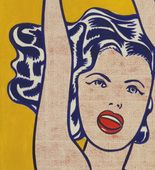 Roy Lichtenstein. Girl with Ball. 1961