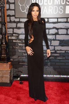 Naya Rivera in Sen Couture at the VMAs