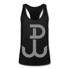 Polska Walcząca - Männer Tank Top mit Ringerrücken #polska #polskashop #polskatanktop #poloniatanktop #polnischebekleidung #poloniastore #tanktop #sport #fitness #mypolonia #polskawalczaca