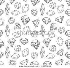 diamond geometric shapes