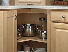 kitchen corner cabinet - Google Search