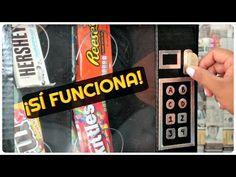 Regalo Súper Original ❤ Maquina Expendedora de Dulces ¡Funciona! | Ame Mayén - YouTube