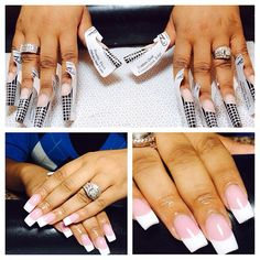 Beautiful Pink and White set by using all Tammy Taylor products and tools! Dope Nails, Get Nails, Hair And Nails, Tammy Nails, Tammy Taylor Nails, Creative Nail Designs, Creative Nails, Nail Art Designs, White Shellac