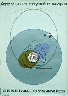 This poster was displayed during the First International Conference on the Peaceful Uses of Atomic Energy in Geneva, August 1955.