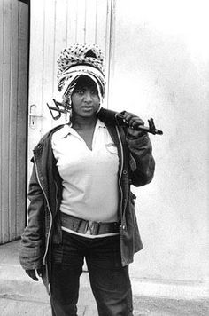 Eritrean freedom fighter - Swag! I am the one who knows that sometimes one has to fight!
