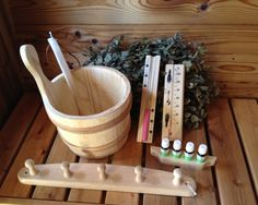 "Barrel Sauna Kits | Sauna accessories kit ""L"" - Wooden Hot Tubs And Barrel Saunas"