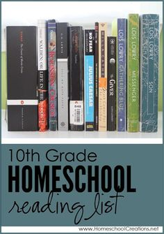 Our 10th Grade Homeschool Reading List