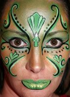 face painting designs for st patrick's day - Google Search