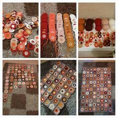 Sunburst granny square blanket Love Crochet, Crochet Granny, Crochet Stitches, Knit Crochet, Granny Square Blanket, Granny Squares, Crochet Blankets, Afghans, Home Crafts