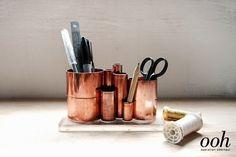 - Trashion Helsinki -: DIY copper pipe stationery holder