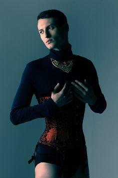 How's that work for you?  Fashion Model Daniel Uzdowski photo by Wojceich Jachyra.