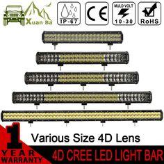 72.25$ Watch here - http://ali0o7.worldwells.pw/go.php?t=32696214548 - XuanBa 300W 4D LED Light Bar 4x4 Offroad Car 12V 24V ATV Truck Auto off road barra Fog Lamp 480W Led Work Driving External Light