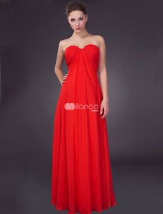 red evening gowns - Google Search