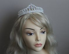 Pretty Pearl and Crystal Flower Girl Tiara от CreativeCalling1