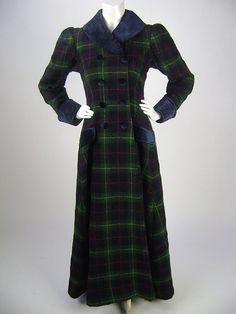 W's Victorian Coat / Edwardian Coat / by iandrummondvintage, $175.00